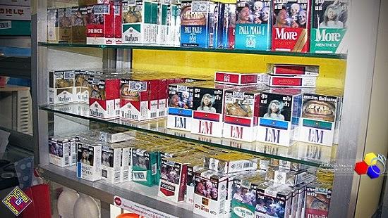 Harga baharu rokok naik 8 September 2014