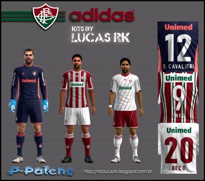 fluminense+brasileir%C3%A3o+2012 PES 2012: Uniforme Fluminense 12/13