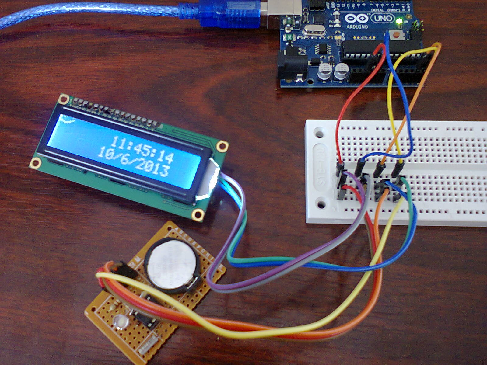 Programmable arduino unit