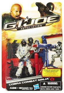 Hasbro GI Joe Retaliation Cobra Combat Ninja Figure