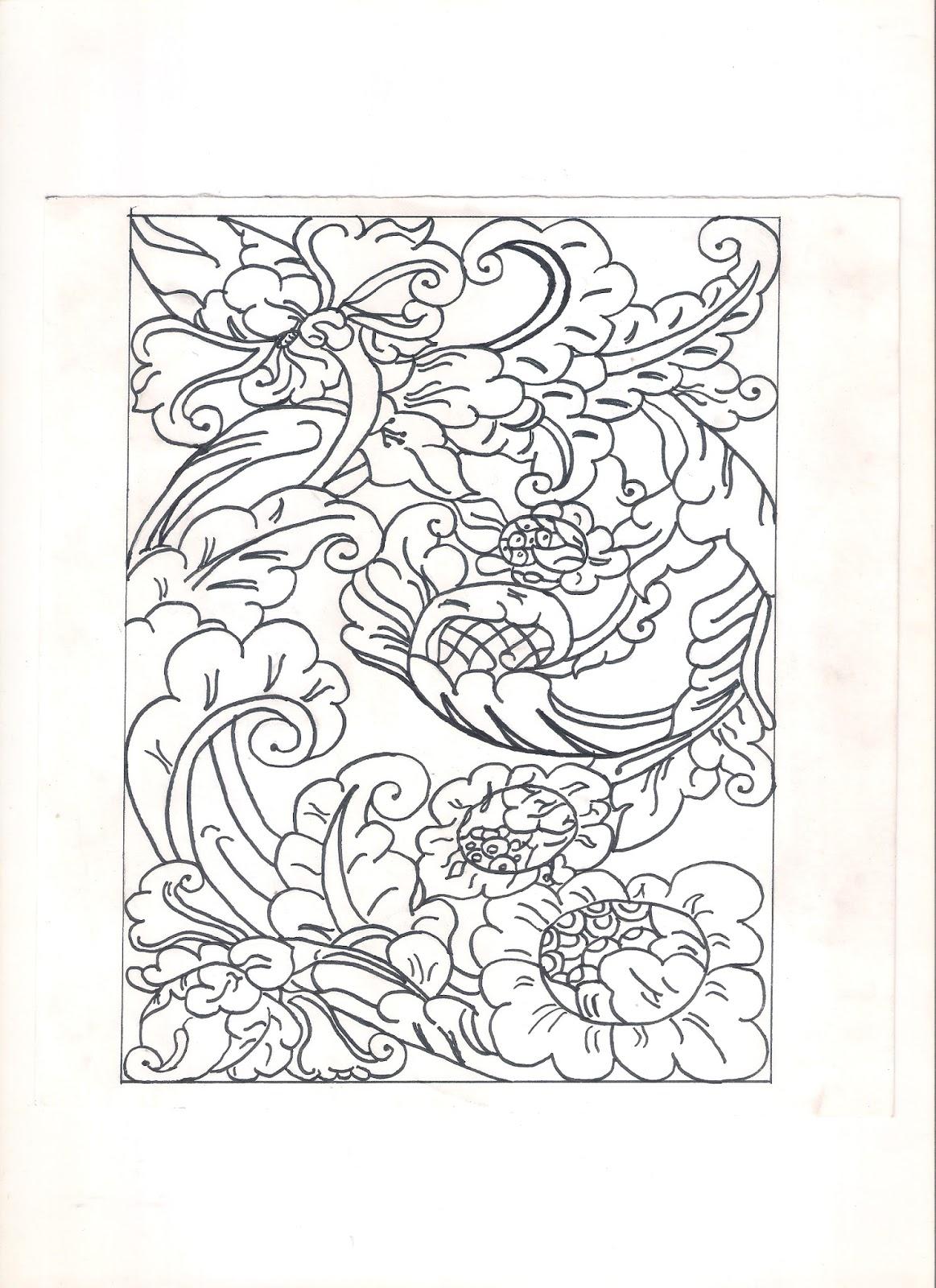 Desain Batik Darasa In Beauty