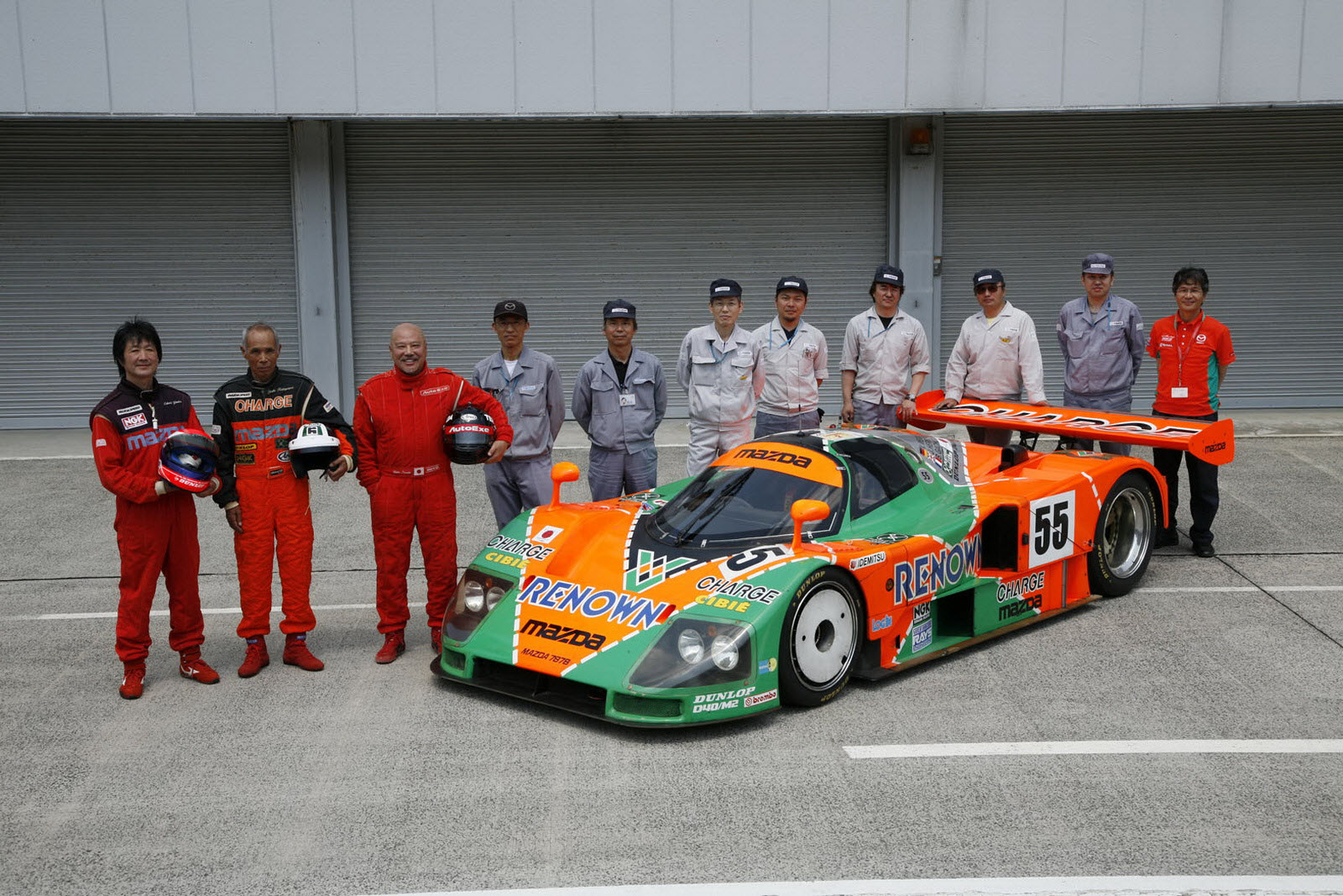 Mazda 787B 1991 Winning car returns to le mans after 20 years ...