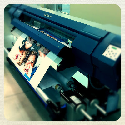 GotPrint digital printer printing promotional piece