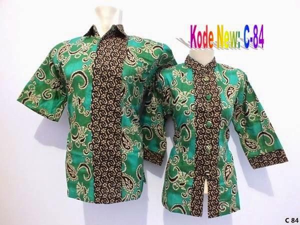 Katalog Model Baju Batik Pria Wanita dan Couple Modern