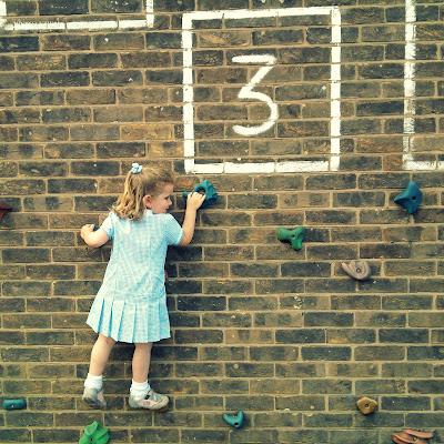 school wall climbing