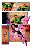 Carol Ferris confesses love for Kyle Rayner in the Green Lantern Lights Out Conclusion