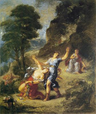 E.+Delacroix+-+Orph%C3%A9e+et+Eurydice+1