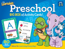 Learnalot's Preschool Activity Card Set