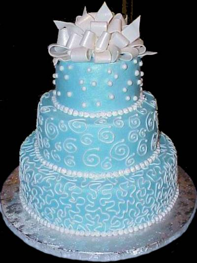 Blue Wedding Cake Ideas : Wedding cakes ideas