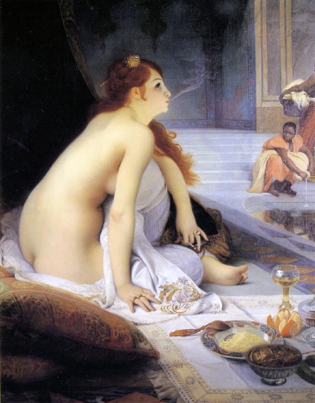 L'Orient en peinture The_White_Slave