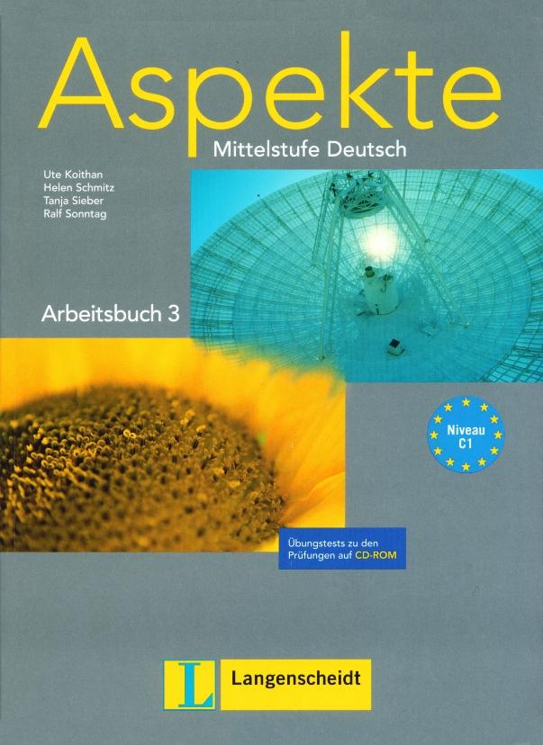 learn deutsch aspekte b1 b2 and c1 audio cd dvd