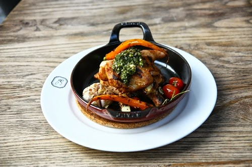 Sizzling Spring Chicken Hot Plate