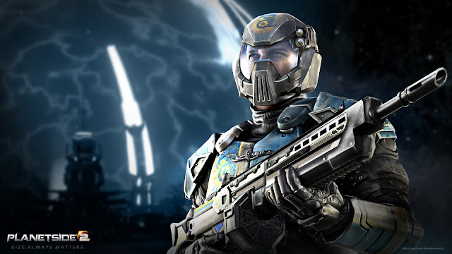 planetside 2 light assault desktop wallpaper
