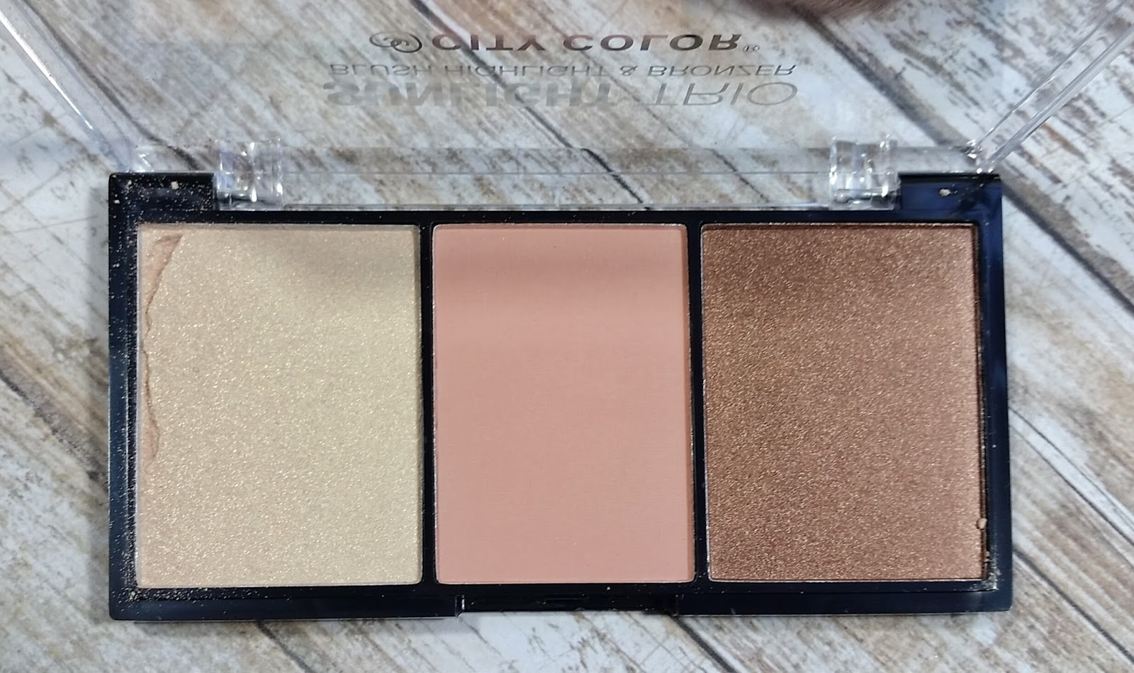 City Color Sunlight Trio Collection 2 review