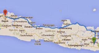 Jakarta Malang Lebih Cepat dan Ngirit Lewat Pantura