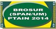 BROSUR (SPAN/UM)-PTAIN 2014