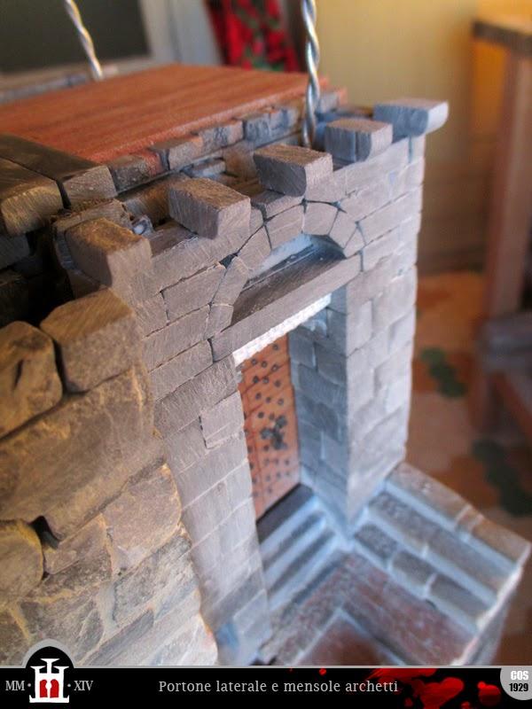 Domus project: costruzione 176: archetti pensili in mattoni