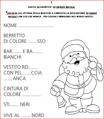 Matiteinvolo Attività Di Consolidamento Con Babbo Natale E La Befana