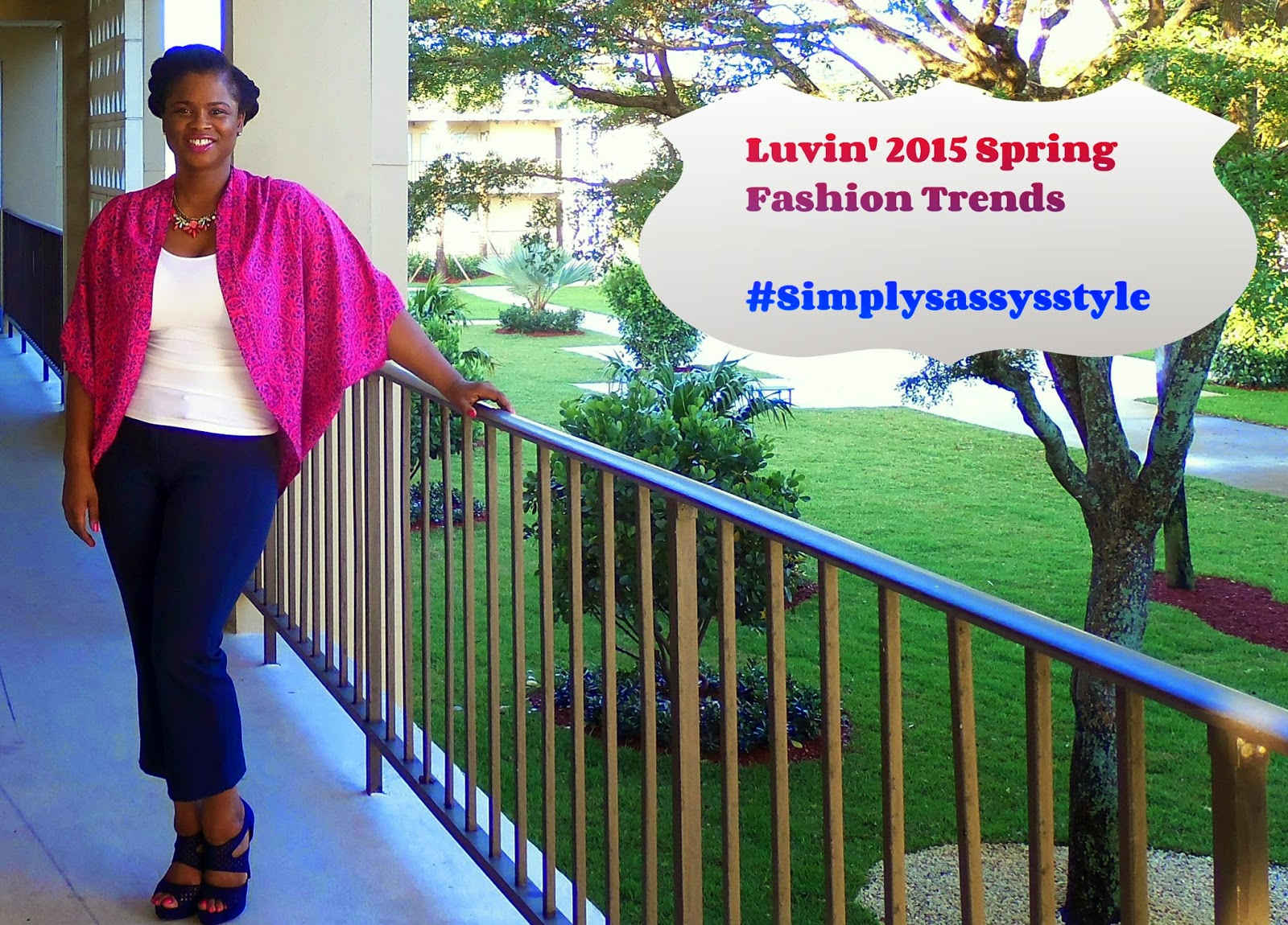 wearing Kimonos in the spring www.simplysassysstyle.com