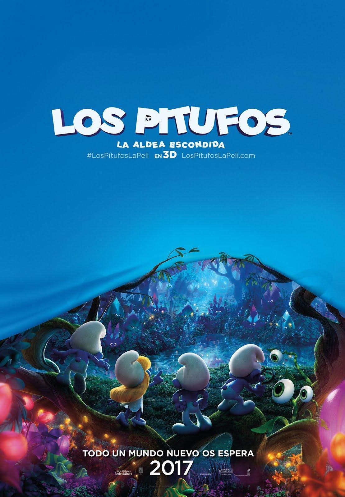 Los Pitufos: La Aldea Escondida (31-03-2017)
