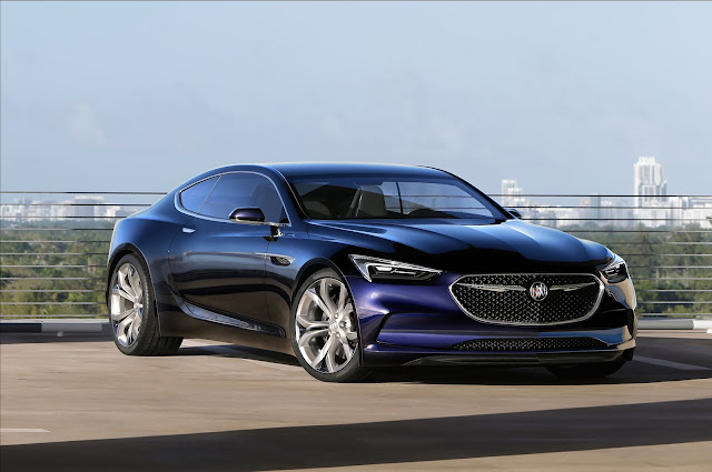 Buick Introduces the Stylish Avista Concept