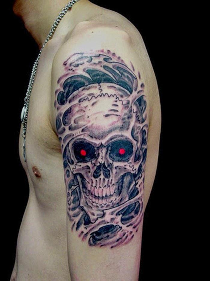 Sleeve Skull Tattoo Designs