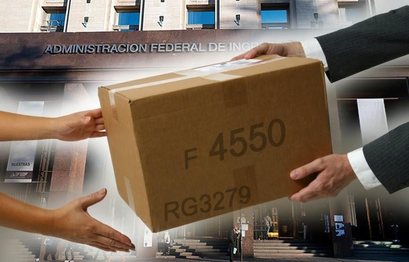 Estilo Contable Compras En El Exterior Rg 3579 Formulario 4550