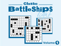 Classic Battleships Light Vol 1 by Conceptis Puzzles