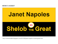 Janet Napoles as Shelob the Great