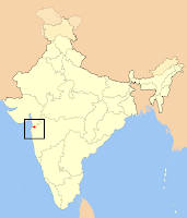 Dadra and Nagar Haveli locator map