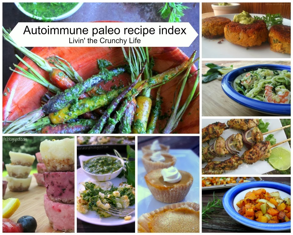 Livin' the Crunchy Life: Autoimmune Paleo Recipe Index