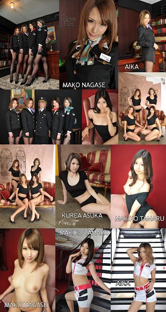 [ดูหนังโป๊ญี่ปุ่นเต็มเรื่อง][ดูหนังโป๊ญี่ปุ่นฟรี][Tokyo Hot n0808] East Clare Gangbang Heat 2012 Part2 :: AIKA, Makiko Tamaru, Mako Nagase, Kurea Asuka