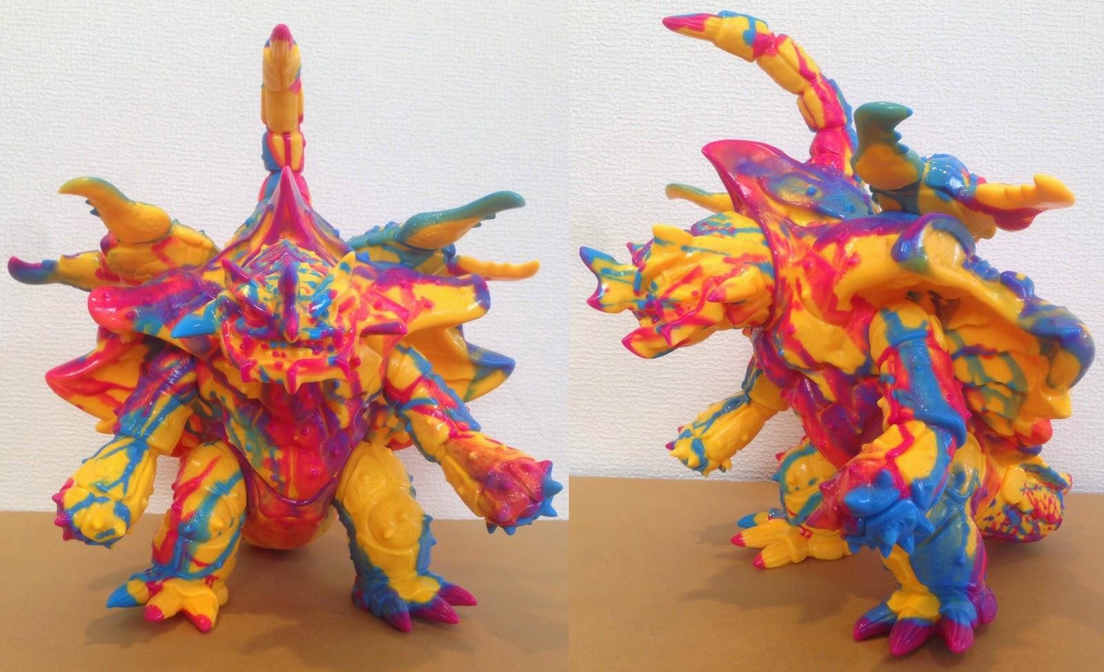 """Drip Style"" Kaiju Zanga Vinyl Figure by Max Toy Company"