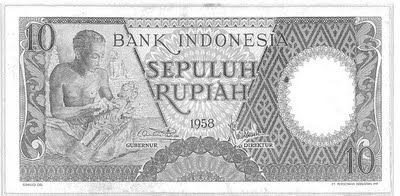 old Rp10 note