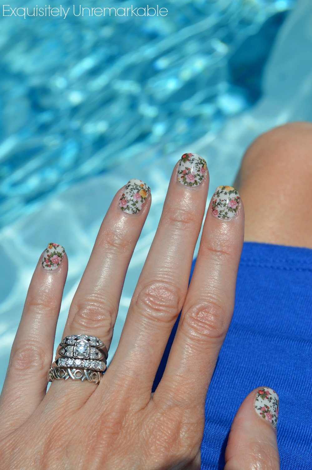 Jamberry Nails and A Giveaway! |Exquisitely Unremarkable