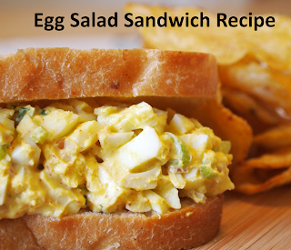 Egg salad sandwich recipe - Grandmother recipes and cooking
