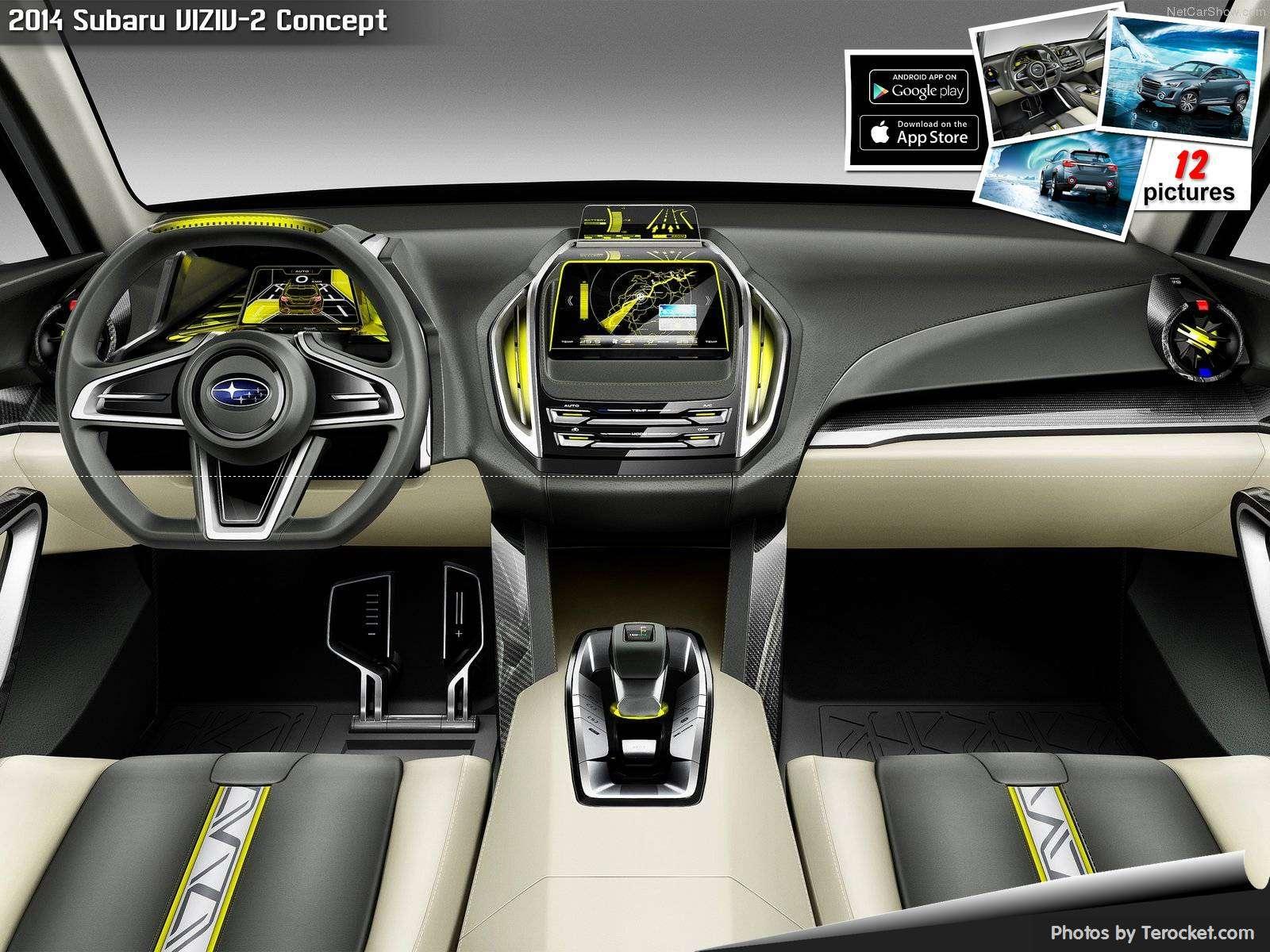 Hình ảnh xe ô tô Subaru VIZIV-2 Concept 2014 & nội ngoại thất