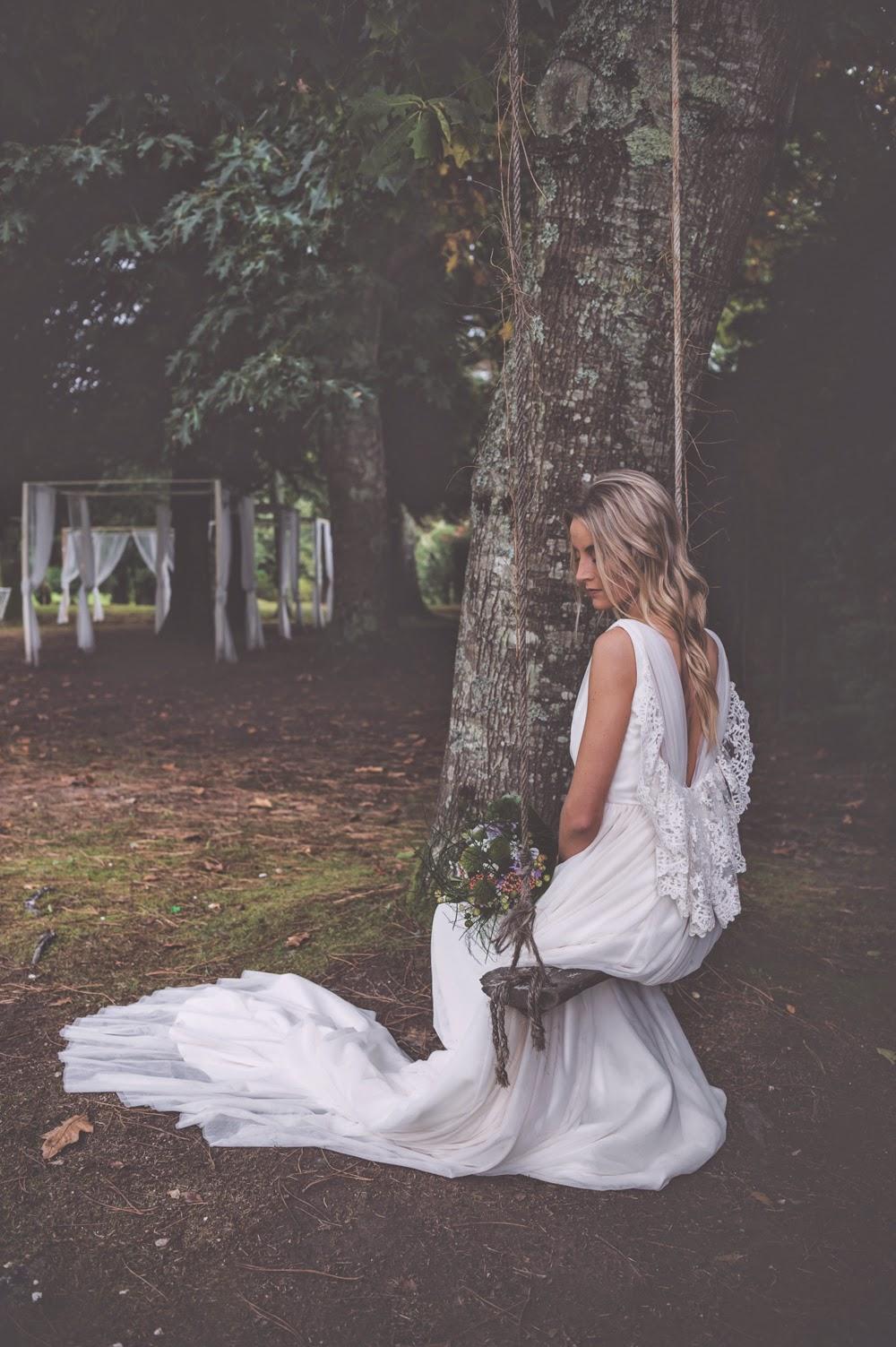Vestido de novia Boüret