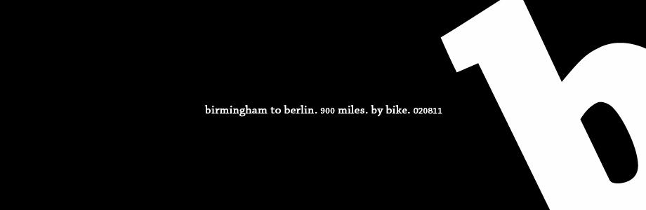Brum To Berlin