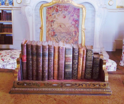 Wrest Park, Library, books, sitting room, English Heritage