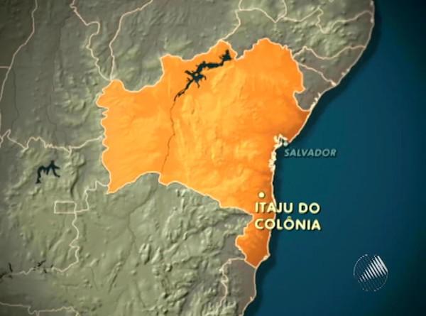 Itaju de Colônia, Bahia