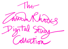 Zandra Rhodes Digital Study Collection: WELCOME