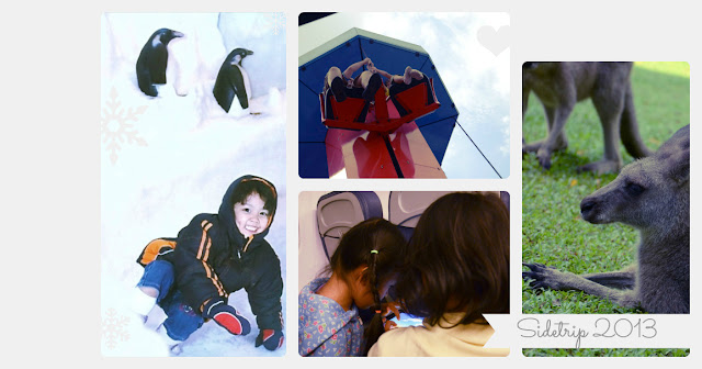Kecil's side trip collage
