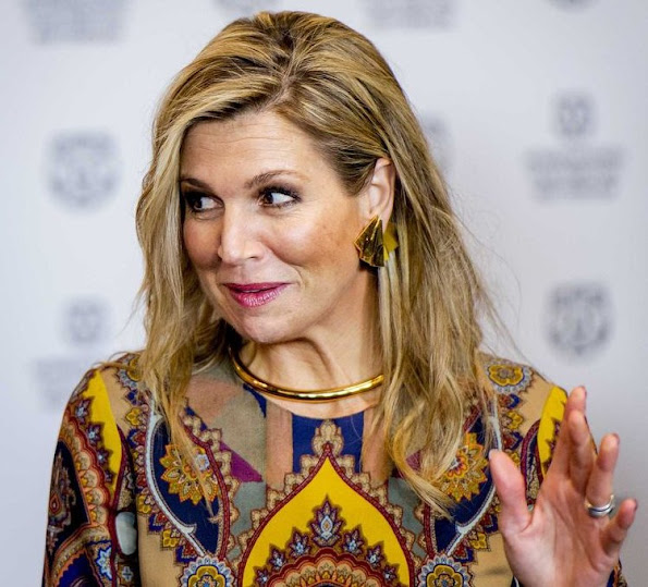Queen Maxima of The Netherlands attends the official opening of the 45th edition of Rotterdam International Film Festival