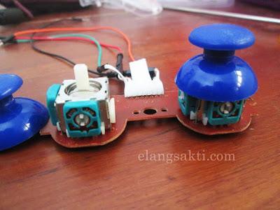 Cara kerja joystick dan Arduino