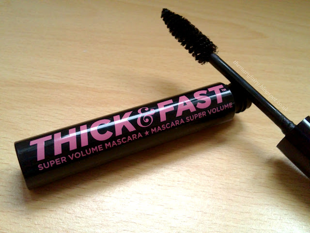 soap and glory thick and fast mascara