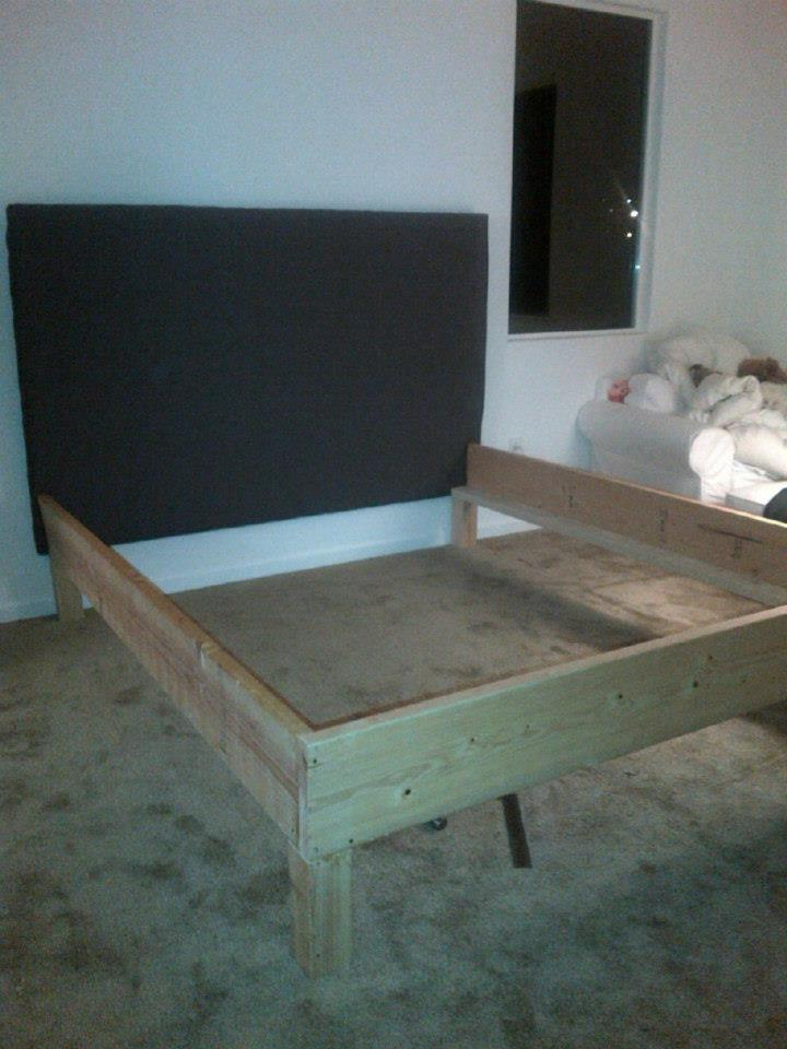 PDF DIY California King Bed Frame Diy Download cart platform ...