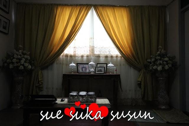 SUE SUKA SUSUN: Ruang tamu ke dua / Ruang solat jemaah