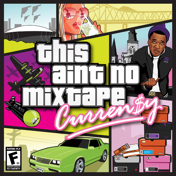 Curren$y - This Aint No Mixtape  Cover