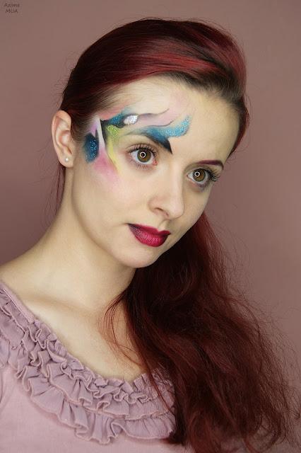 [223.] Makijaż fantazyjny po raz pierwszy.